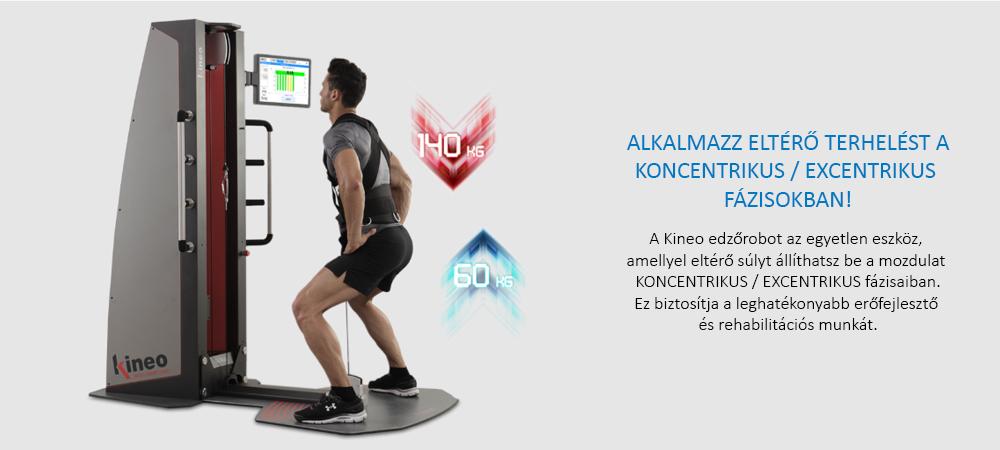 Kineo edzőrobot